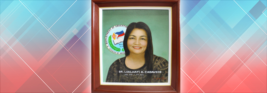 <p><b>LUALHATI O. CADAVEDO</b><br>January 2013 - October 2016</p>